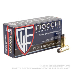 50 Rounds of .44 S&W Spl Ammo by Fiocchi - 200gr SJHP