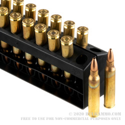 400 Rounds of .223 Ammo by Remington UMC - 45gr JHP