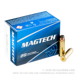 20 Rounds of .454 Casull Ammo by Magtech - 260gr SJSP