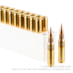 20 Rounds of 7.62x51mm Ammo by Winchester Service Grade - 147gr FMJBT