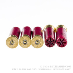 """250 Rounds of 2-3/4"""" 12ga Ammo by Federal LE - 00 Buck"""
