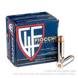 500 Rounds of .357 Mag Ammo by Fiocchi - 158gr XTP