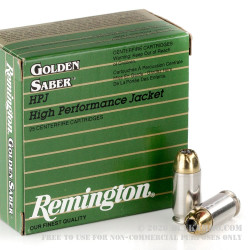 500  Rounds of .45 ACP Ammo by Remington - 185gr JHP