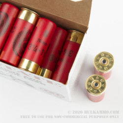 250 Rounds of 12ga Ammo by Estate Cartridge - 1 1/8 ounce #8 Shot