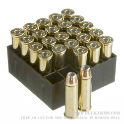 25 Rounds of .38 Spl Ammo by Hornady - 125gr JHP