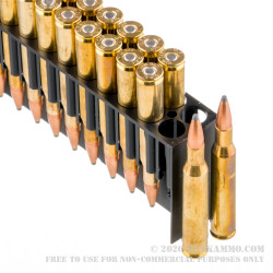 20 Rounds of .270 Win Ammo by Fiocchi - 150gr PSP