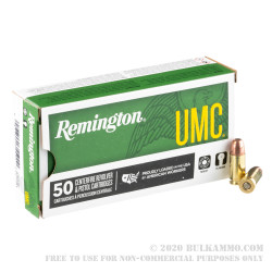 500 Rounds of 9mm Ammo by Remington - 147gr FMJ