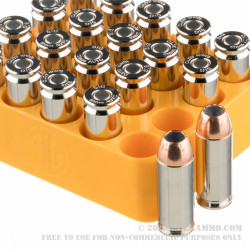 20 Rounds of 10mm Ammo by SIG Sauer V-Crown - 180gr JHP