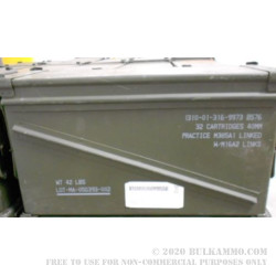 1 Surplus 40mm Ammo Can - Green - Used