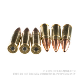 200 Rounds of .300 AAC Blackout Ammo by Hornady in Field Box - 125gr HP