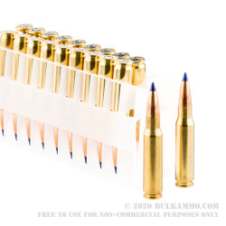 20 Rounds of .308 Win Ammo by Federal Tactical TRU - 168gr Tactical Tip MatchKing