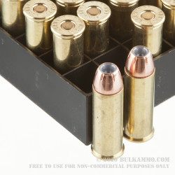 200 Rounds of .44 Mag Ammo by Hornady Custom - 300gr XTP