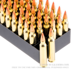 50 Rounds of .223 Ammo by Fiocchi - 50gr V-Max