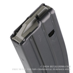 D&H Industries 30rd AR-15/M4 Magazine - 5.56/.223 - Black Teflon with Magpul Follower