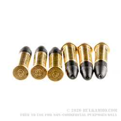 500 Rounds of .22 LR Quiet Ammo by CCI - 40gr LRN