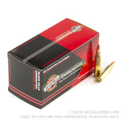 50 Rounds of .223 Ammo by Black Hills Ammunition - 55gr Multi-Purpose Green HP