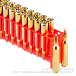 20 Rounds of .223 Ammo by Fiocchi - 69gr HPBT