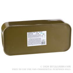 700 Rounds of 7.62x39mm Ammo in Spam Can by Wolf Military Classic - 124gr FMJ