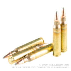 500 Rounds of 5.56x45 Ammo by Hornady Frontier - 62gr Spire Point