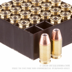 25 Rounds of .380 ACP Ammo by Hornady - 90gr JHP