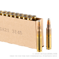 200 Rounds of 5.56x45 Ammo by Winchester Super Clean NT - 55gr JSP