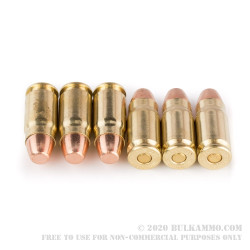 50 Rounds of .357 SIG Ammo by Winchester - 125gr FMJ
