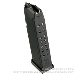 Factory Glock 17rd G17 Magazine - 9mm - Black - Gen 4