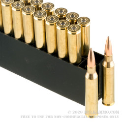 20 Rounds of .338 Lapua Ammo by Hornady Match - 250gr HPBT