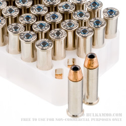 50 Rounds of .38 Spl Ammo by Federal LE Hydra Shok - 129gr +P JHP