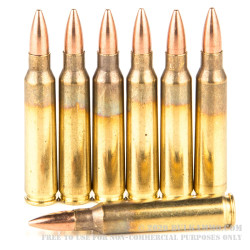 1000 Rounds of 5.56x45 Ammo by Bosnian Surplus - 55gr FMJ