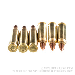 50 Rounds of .223 Ammo by Hornady - 55gr FMJBT
