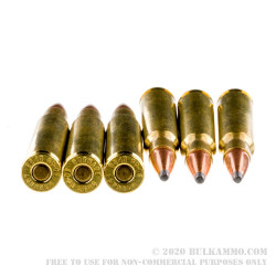 20 Rounds of 30-06 Springfield Ammo by Hornady American Whitetail - 150gr SP
