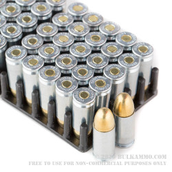 1000 Rounds of 9mm Ammo by MaxxTech - 115gr FMJ