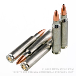 500  Rounds of .223 Ammo by Silver Bear (Steel Case) - 55gr HP