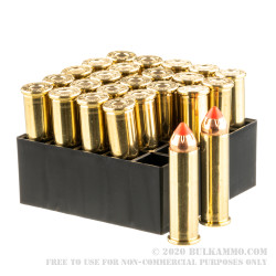 25 Rounds of .357 Mag Ammo by Hornady - 140gr FTX