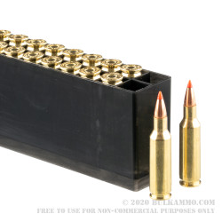 200 Rounds of .224 Valkyrie Ammo by Hornady Varmint Express - 60gr GMX