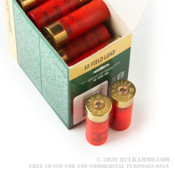 """25 Rounds of 12ga 2-3/4"""" Ammo by Sellier & Bellot - 1 ounce #7 1/2 shot"""