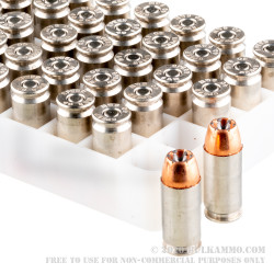 50 Rounds of 40 S&W Ammo by Speer LE Gold Dot - 165gr JHP