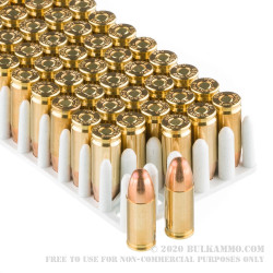 50 Rounds of 9mm Ammo by Prvi Partizan - 124gr FMJ