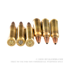 200 Rounds of .223 Ammo by Remington - 50gr JHP