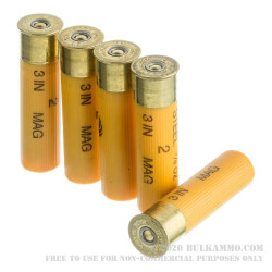 """25 Rounds of 20ga 3"""" Ammo by Federal Speed-Shok Steel - 7/8 ounce #2 Shot"""