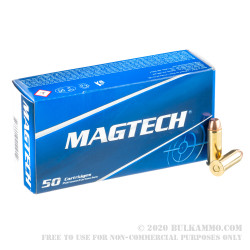 50 Rounds of .44 S&W Ammo by Magtech - 240gr FMJ