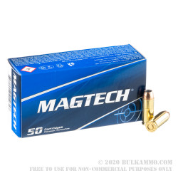 50 Rounds of 10mm Ammo by Magtech - 180gr JHP