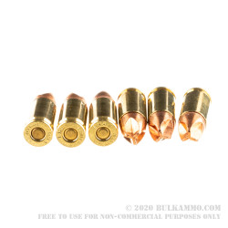 20 Rounds of 9mm Ammo by Black Hills Ammunition - 125gr HoneyBadger