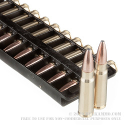 20 Rounds of 7.62x39mm Ammo by Federal - 123gr Fusion