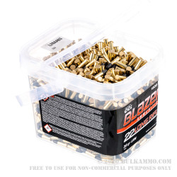 1500 Rounds of .22 LR Ammo by Blazer Bucket - 38gr LRN