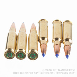 20 Rounds of .308 Win Ammo by Barnes - 168gr TTSX