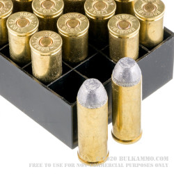 20 Rounds of .45 Long-Colt Ammo by Hornady - 255gr LFN