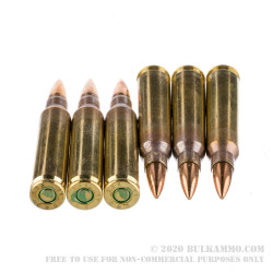1000 Rounds of 5.56x45 Ammo by Magtech/CBC in Ammo Can - 55 gr FMJ