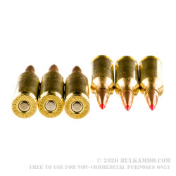 20 Rounds of 6mm Creedmoor Ammo by Hornady Match - 108gr ELD Match